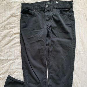 Rude Black Jeans Slim Straight